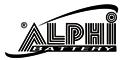 ALPHI BATTERY